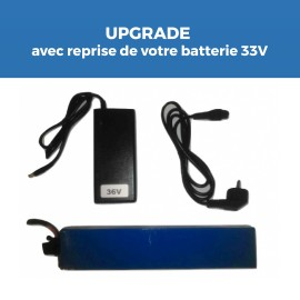 Kit Batterie E-TWOW 36V 7,5Ah en échange pour augmenter performance de Booster Plus