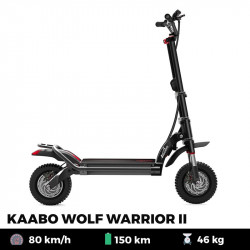 Trottinette électrique KAABO WOLF WARRIOR II PLUS 35 Ah