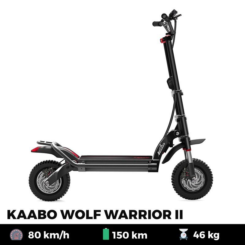 Trottinette électrique KAABO WOLF WARRIOR II 35 Ah