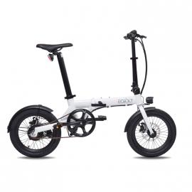 Vélo électrique EOVOLT Confort blanc 20 pouces
