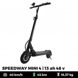 Trottinette électrique Minimotors Speedway MINI 4 13 Ah - 48 V - Noire