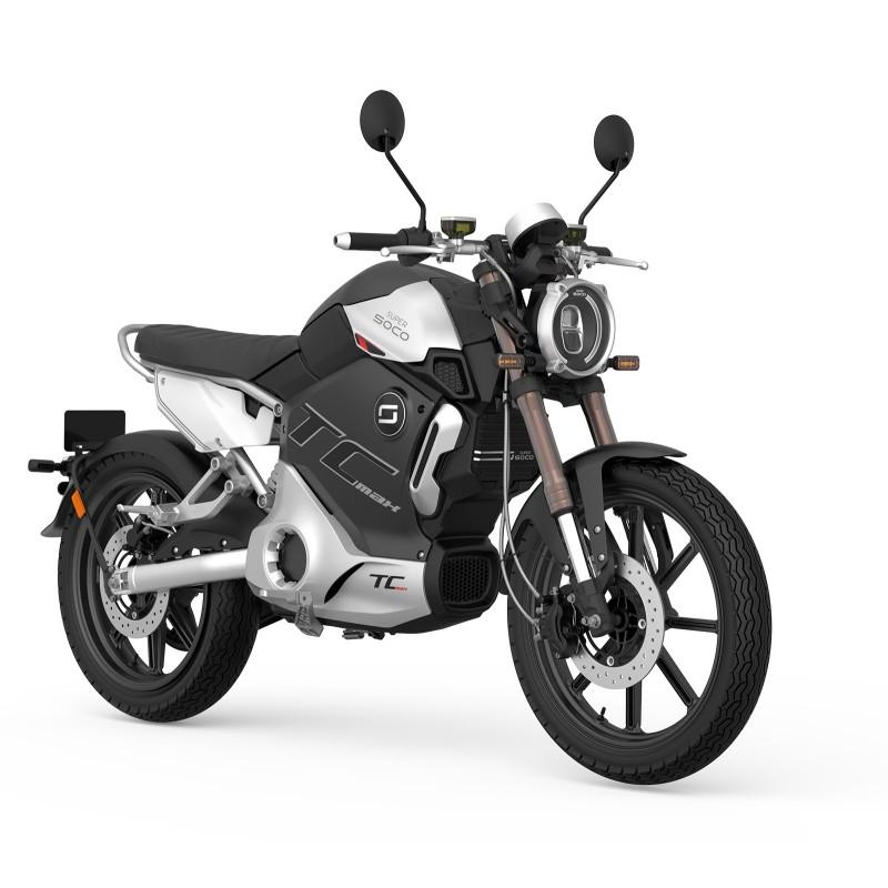 Moto Electrique 125 Super SOCO TC Max PRO - Edition Limitée
