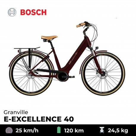 Vélo électrique E-EXCELLENCE 40 - Granville - Noir