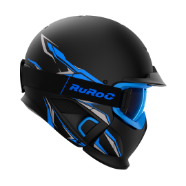 Casque Modulable RUROC RG1-DX CHAOS ICE