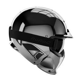 Casque Modulable RUROC RG1-DX CHROME