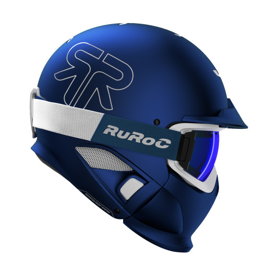 Casque Modulable RUROC RG1- DX MIDNIGHT