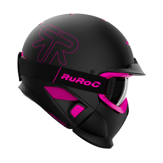 Casque Modulable RUROC RG1- DX PANTHER