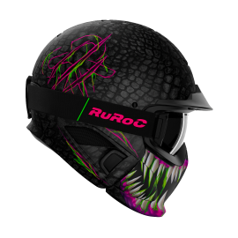 Casque Modulable RUROC RG1-DX TOXIN