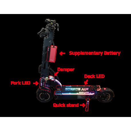 Batterie externe 17 AH 12.6 V