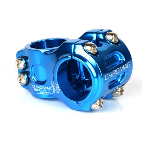 POTENCES HIFI V2 40mm bleu diam.31.8mm clamp freeride/dh stem