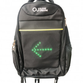 Sac à dos avec LED de direction