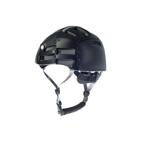 casque pliable Plixi FIT, de couleur noire
