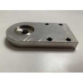 Plaque Middle direction acier inoxydable pour NF 11 / NF PLUS