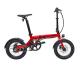 Vélo électrique EOVOLT City 4 SPEED- Rouge 16 pouces