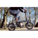Vélo électrique EOVOLT City 4 Speed- Blanc 16 pouces