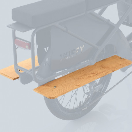 Repose Pied AKA pour Vélo Cargo Electrique Kiffy