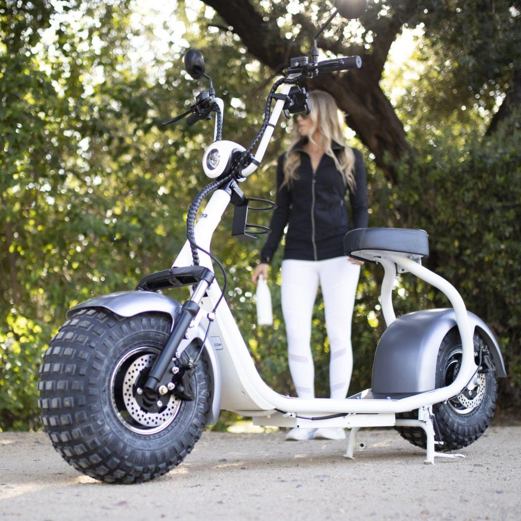 Les trottinettes électriques grandes roues