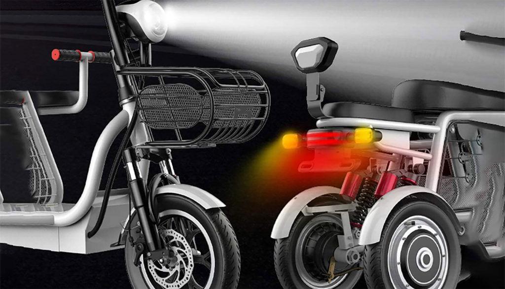 Les trottinettes électriques à trois roues pour adultes