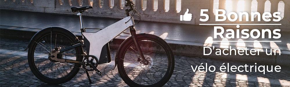 5 bonnes raisons de choisir le vélo électrique